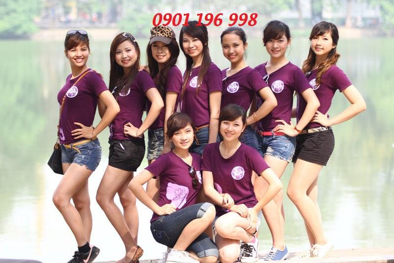Cơ sở cung cấp áo thun đồng phục quận Bình Thạnh
