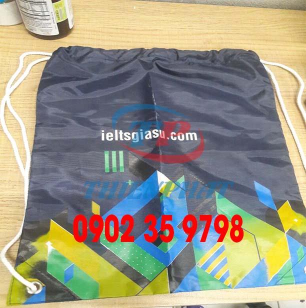 Tìm địa chỉ may balo dây rút, sản xuất túi rút TPHCM