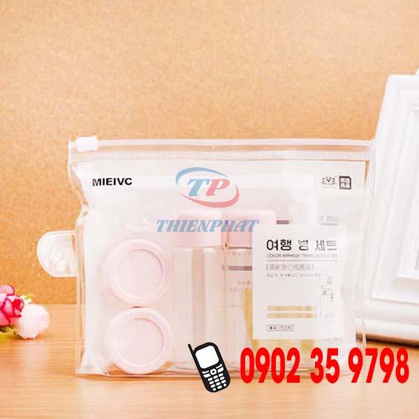 Cần tìm cơ sở sản xuất túi zipper nhựa trong suốt theo yêu cầu
